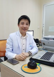 คุณหมอกล้า ชเนษฎ์ ศรีสุโข Dr.Chanesd Srisukho, MD, MSc